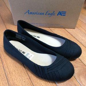 American Eagle Bree Black Ballet Flats